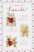 Boofle Fiancée Birthday Card
